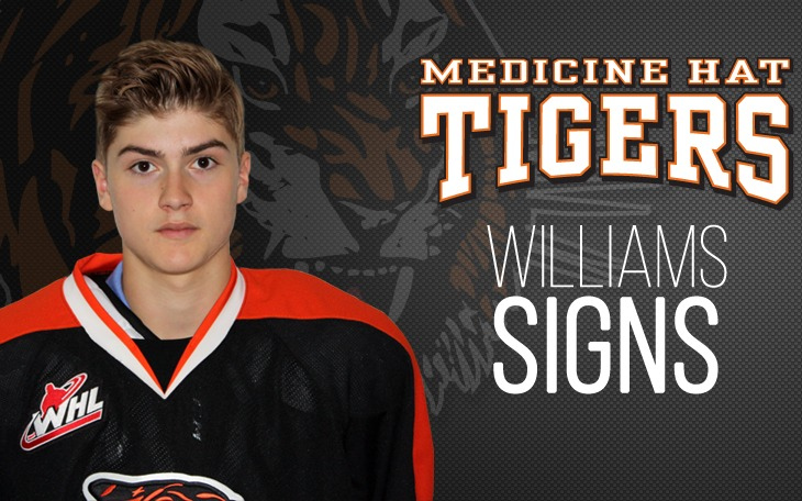TIGERS SIGN WILLIAMS