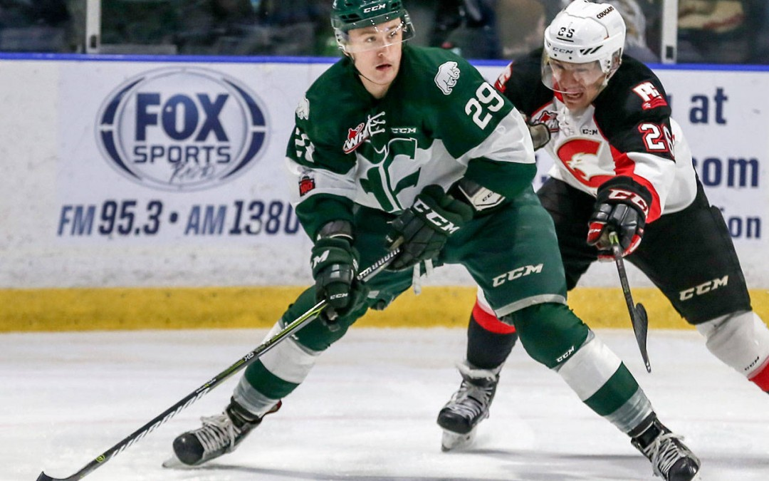 Tips' hometown hero Wylie surges up NHL prospect rankings