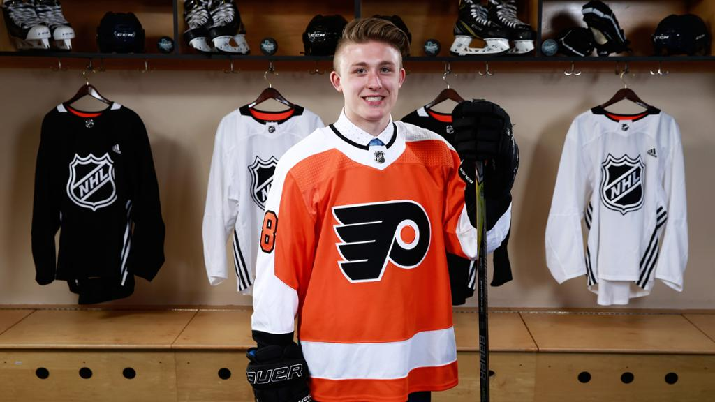 Wyatte Wylie Opens Up On His Road To Signing An ELC With The Flyers