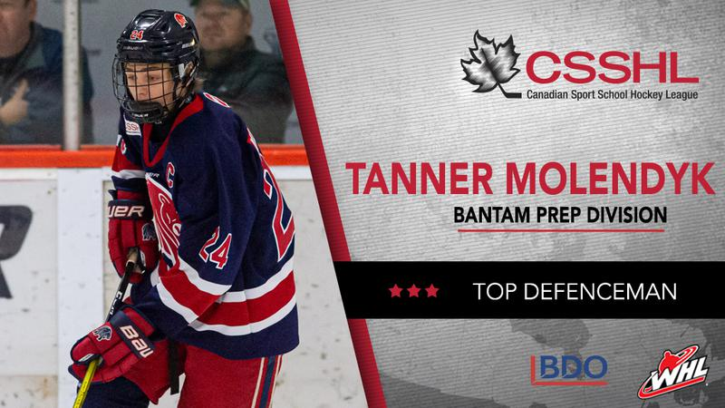 Kamloops' Tanner Molendyk 5th overall pick in WHL bantam draft