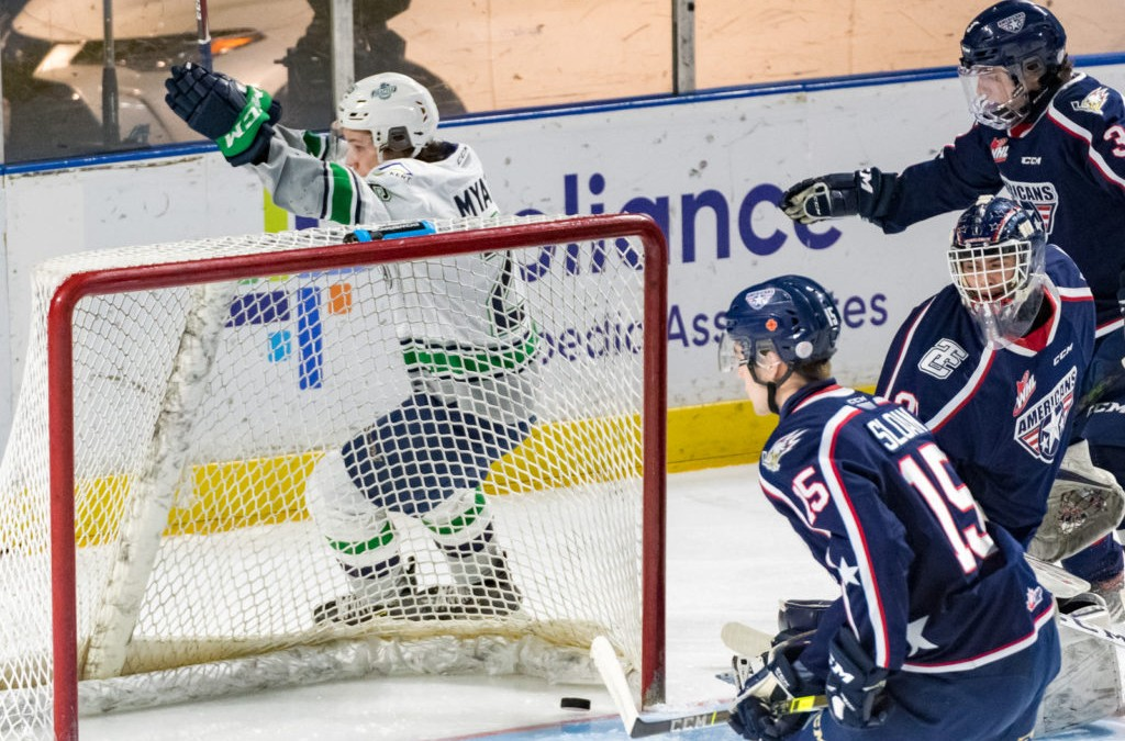 Nico Myatovic Scores Two Goals In Debut As T-Birds Beat Americans